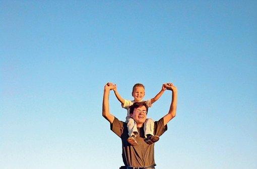 Kinder sind gut gegen Stress