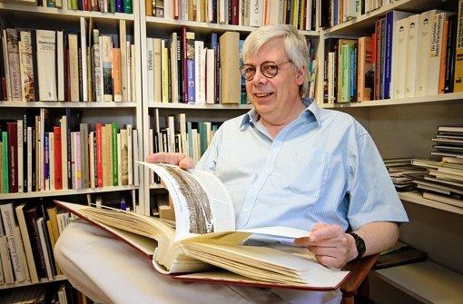Vor 30 Jahren hat Titus Häussermann den Silberburg-Verlag gegründet Foto: Kai Fischer