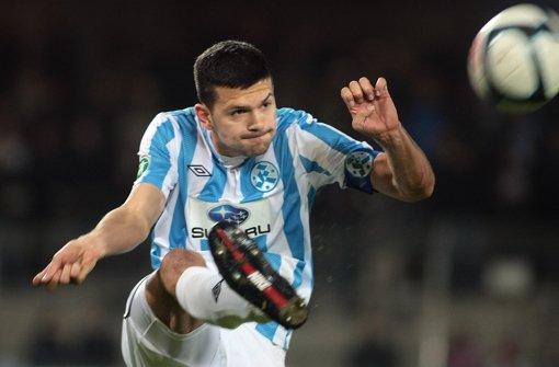 Simon Köpf verlässt die Stuttgarter Kickers Foto: Pressefoto Baumann
