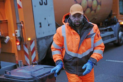 Müllmann, ein Knochenjob