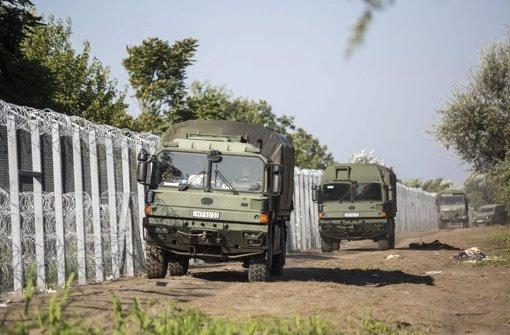 Ungarn schließt Lücke im Grenzzaun zu Serbien
