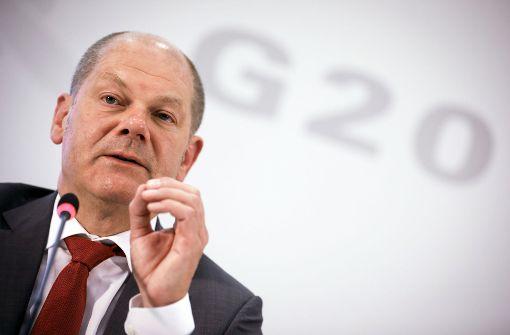 Olaf Scholz gibt Regierungserklärung ab