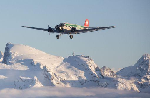 Ein perfekt gewarteter Flugzeug-Oldtimer