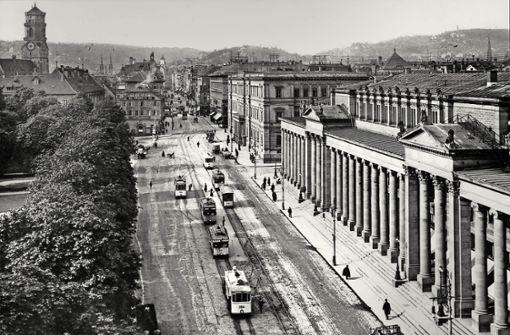 Das Kronprinzenpalais (am Königsbau) in voller Pracht im Jahr 1910. Foto: SSB
