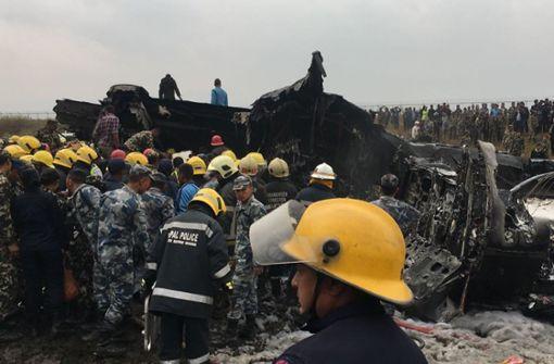Mindestens 40 Tote bei Flugzeugabsturz