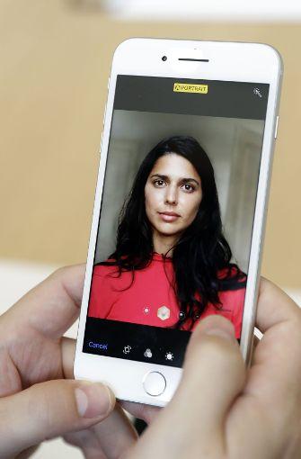 Auch an der Auflösung ändert sich nichts. Das iPhone 8 löst wie das iPhone 7 mit 1334 x 750 Pixeln auf. Das iPhone 8 Plus zeigt Inhalte in Full HD an. Foto: AP