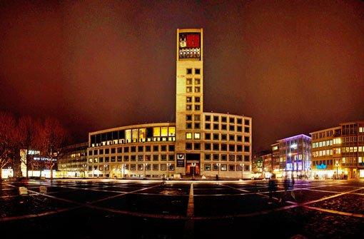 Nachts ist Stuttgart alles andere als grau