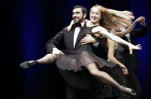 Gauthier Dance bei der Arbeit Foto: Lichtgut/Leif Piechowski