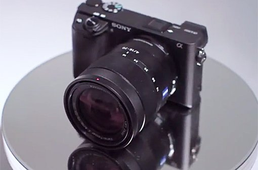 Sony Alpha 6300 Videoansicht