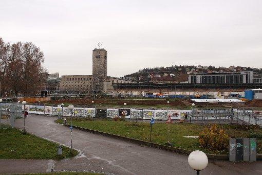 ... der S21-Baustelle am Stuttgarter Hauptbahnhof. Foto: www.7aktuell.de/Gerlach