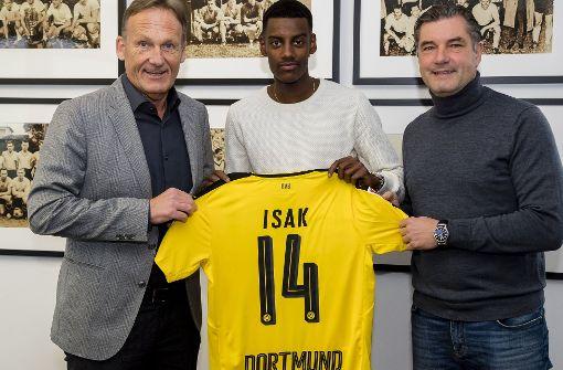 BVB holt Teenager Isak für zehn Millionen Euro