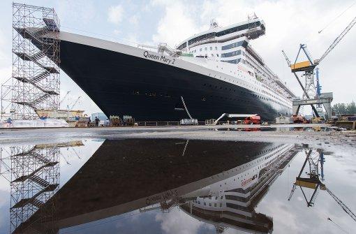 """Stählerner Gigant """"Queen Mary 2"""" sticht wieder in See"""