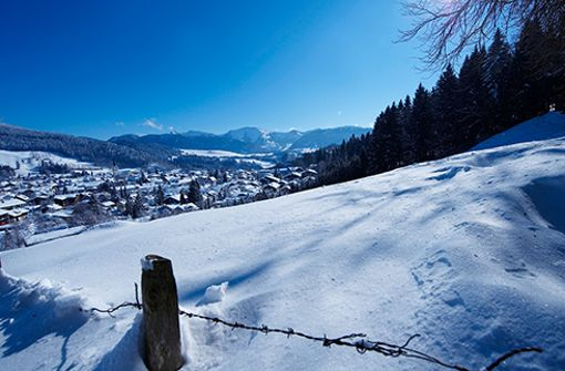 Aktiver Winterurlaub im Allgäu