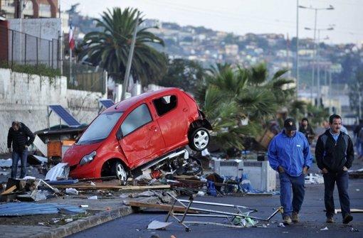 Chile trotzt dem Erdbeben