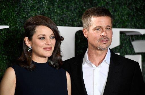 Marion Cotillard und Brad Pitt Seite an Seite