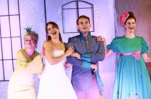 Das Theater Liberi begeisterte mit seiner Aschenputtel-Inszenierung. Foto: Theater Liberi