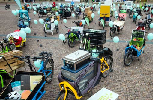 Ansturm auf Fördergeld für E-Lastenräder