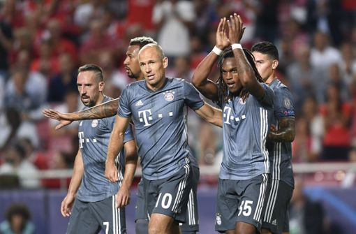 Sanches trifft bei Bayern-Sieg in Lissabon