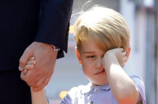 Ein Aufruf soll empfohlen haben, Prinz George (4) an seiner Vorschule anzugreifen. Foto: dpa