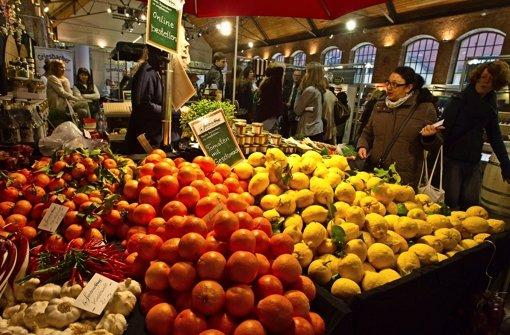 Reichhaltiges Angebot wie in einer gut sortierten Markthalle Foto: Lichtgut Christian Hass