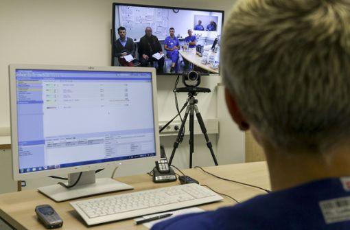 Ein Blick in die Zukunft der Medizin: Telemedizin in Ludwigsburg Foto: factum/Granville