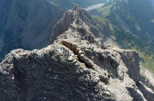 Im Allgäu droht ein riesiger Felssturz
