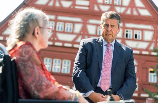 Außenminister auf SPD-Wahlkampftour im Südwesten