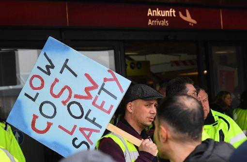 Streikgefahr an Berliner Flughäfen gebannt