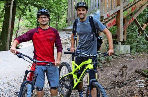 Nicht alle Downhill-Biker sind zufrieden