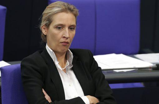 AfD-Spitze stellt sich hinter Alice Weidel