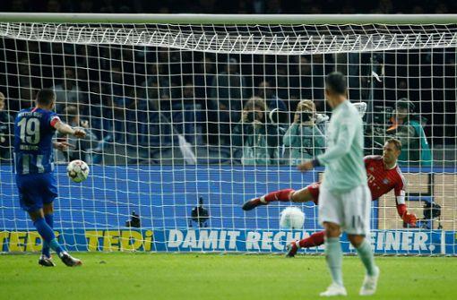 FC Bayern München verliert gegen Hertha