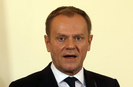 Donald Tusk warnt Migranten, aus wirtschaftlichen Gründen nach Europa zu kommen. Foto: AP
