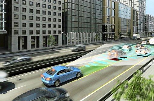 Mobilität der Zukunft bedeutet auch automatisiertes Fahren - Bosch will mitziehen Foto: Bosch