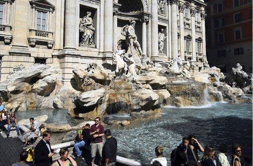 Der Trevi-Brunnen in Rom. Foto: dpa