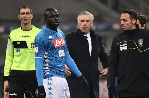 Fußballer vom SSC Neapel rassistisch beleidigt