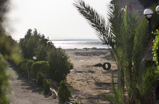 An diesem Strand in Hurghada, Ägypten, hat der Attentäter die Toruisten mit dem Messer attackiert. Foto: dpa