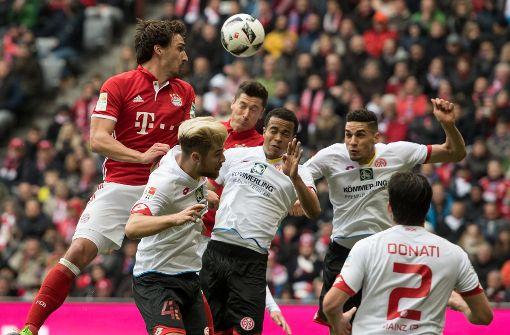 Mainz ärgert Bayern - Darmstadt verschiebt Abstieg