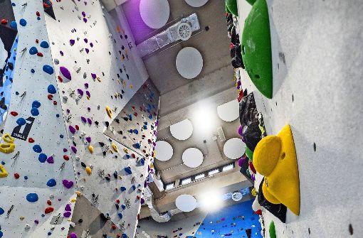 Neue Kletterhalle  öffnet am Sonntag
