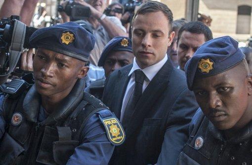 Fünf Jahre Haft für Pistorius