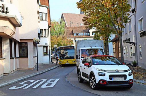 In Schmiden setzt die Stadt auf Schmalspur