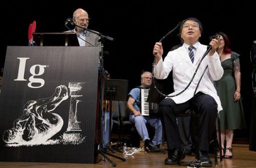 Genial und gaga: Ig-Nobelpreise 2018 verliehen