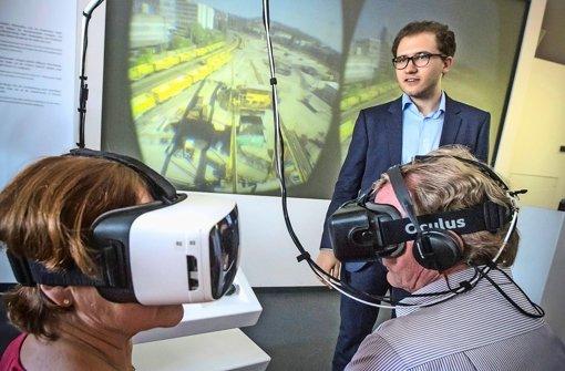 Virtuell beim Tunnelbau dabei