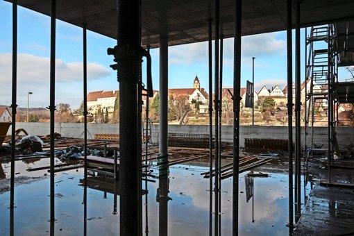 Das Rathaus wächst gen Himmel