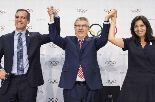 IOC plant Doppelvergabe der Sommerspiele 2024 und 2028