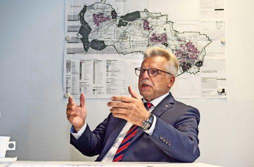Ditzinger Rathauschef ist Boss aller Bürgermeister