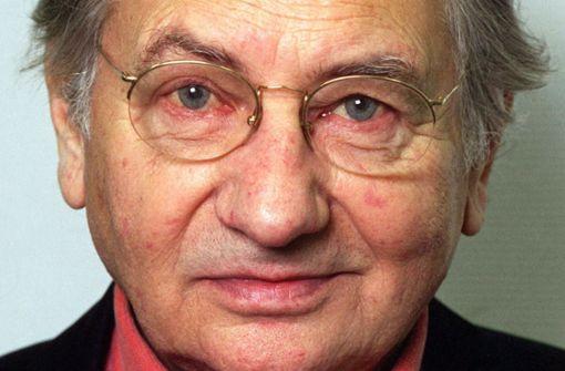 TV-Journalist und Umweltschützer Horst Stern gestorben