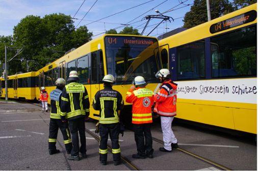 Nun wird ermittelt: Warum geriet die U4 nach Untertürkheim von ihrem Weg ab? Foto: SDMG