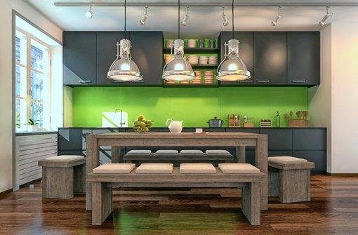 In Der Küche Braucht Man Gutes Licht Zum Arbeiten Foto: Fotolia