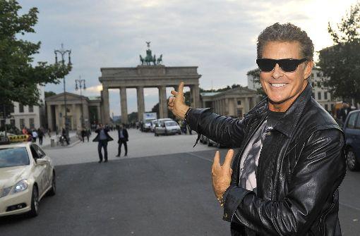 David Hasselhoff protestiert gegen Berliner Bauprojekt