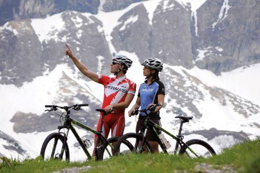 Radfahren für jeden Geschmack  Foto: Bad Hindelang Tourismus